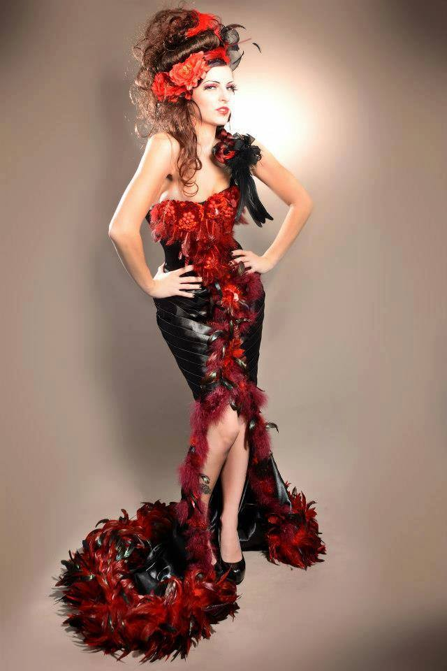 lecy crea fashion night couture. Black Bedroom Furniture Sets. Home Design Ideas